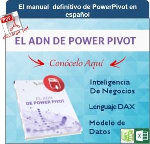 El ADN de PowerPivot