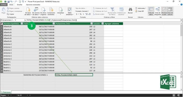 Rankx Puntuación Excel Ayuda
