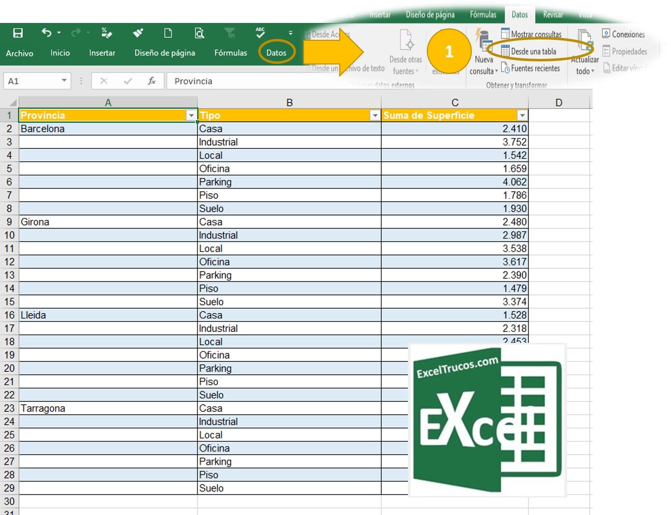 Power Query en Excel