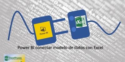 Conectar Power BI con Excel