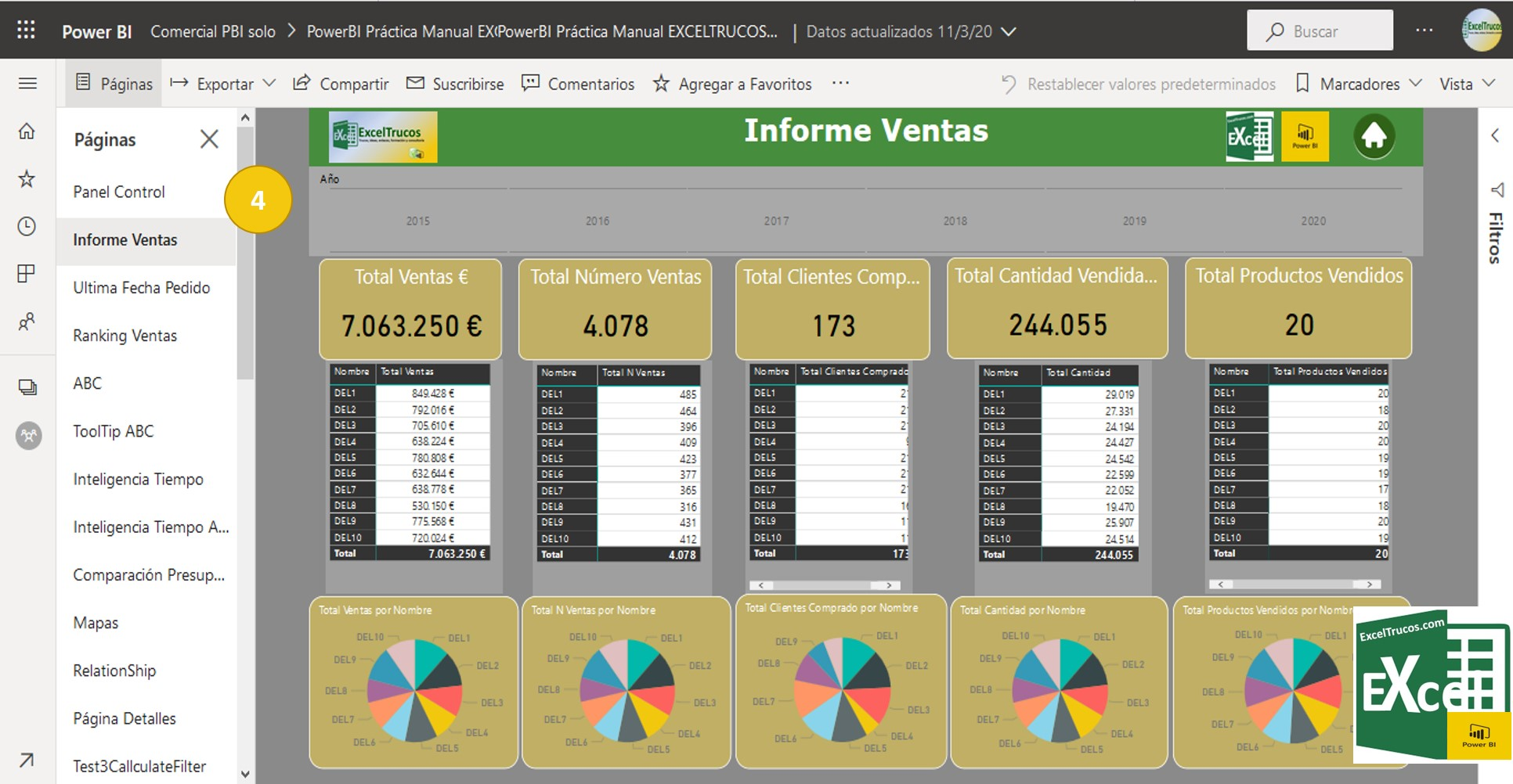 Conectar Power BI con Excel