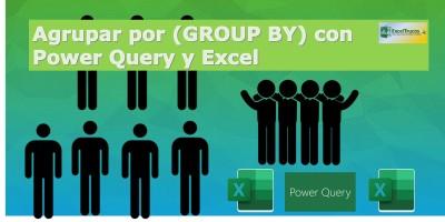 agrupar datos con power query en excel trucos